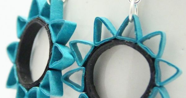 paper quilled earrings - Google Search | Crafts-Quilling | Pinterest