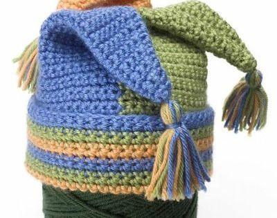 Free Crochet Joker Hat Pattern : Free Crochet Jester Hat Pattern. Crochet, Crochet ...