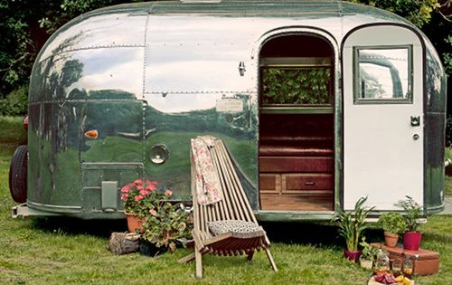 vintage caravan... @Courtney Caulford