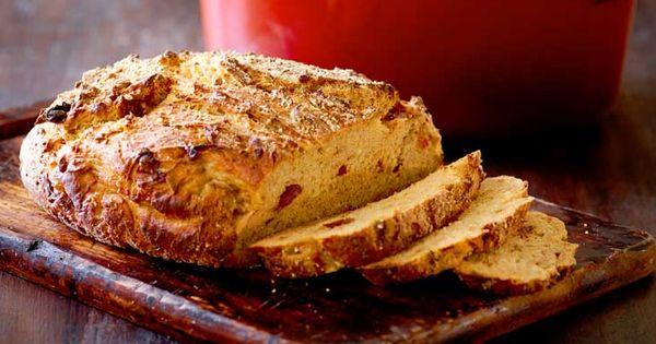 ... bread in a pot | Bread | Pinterest | Tomato Bread, Feta and Tomatoes