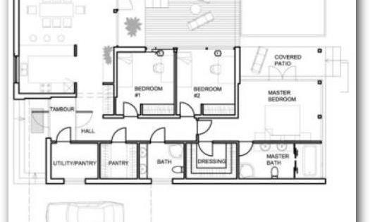 Plano de casa rural moderna quinta pinterest casas - Planos de casas rurales ...