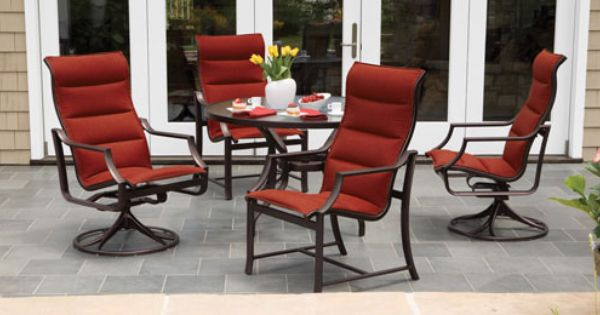 Pin By Chair Care Patio Furniture Rep On Replacement Slings Modern Patio Furniture Outdoor Wicker Furniture Aluminum Patio Furniture