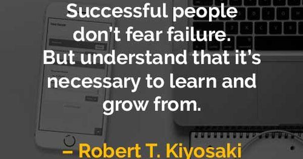 Kata Kata Motivasi Robert T Kiyosaki Orang Sukses Tidak Takut