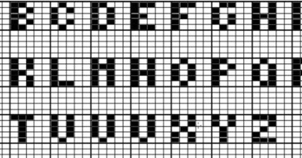 Junghans Wolle Handarbeitsforum Thema Anzeigen Buchstaben Sticken Auf Einer Mutze Buchstaben Sticken Strickvorlage Buchstaben