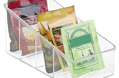 Interdesign Cabinet Binz 10 Inch Cabinet Packet Organizer Diy Pantry Organization Food Storage Organization Spice Organization