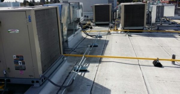 Package Units On A Commercial Building Typically 1 Year Warrantees On Commercial But 88hvac Offers 5 Year Parts On Our Installati Gas Furnace The Unit Rooftop