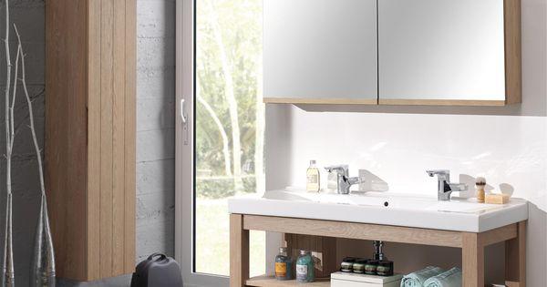 Meuble de salle de bain Cedam - Gamme Oakland. Modèle destiné aux ...