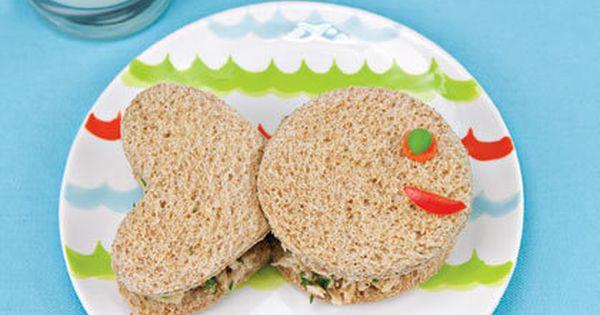 Tuna sandwich   Children Recipes   Pinterest   Fish Sandwich, Tuna ...