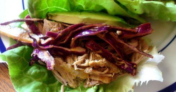 Cuban Pork Lettuce Wraps   Recipe   Cuban Pork, Pork Lettuce Wraps ...