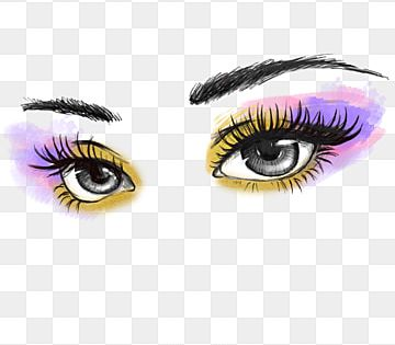 Hand Painted Makeup Powder Eye Shadow Eyes Clipart Black And White Hand Painted Doodling Png Transparent Clipart Image And Psd File For Free Download In 2021 Paint Makeup Makeup Clipart Powder Makeup