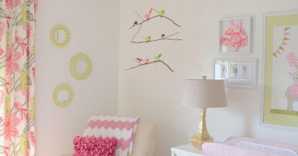 Cute baby girl's room