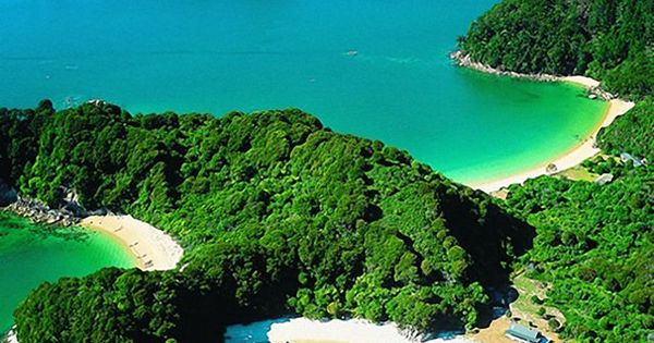 Abel Tasman National Park, South Island, New Zealand...Welcome to my bucket list!