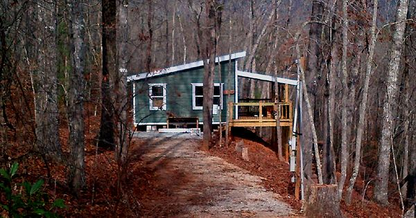 20 X 24 Shed Roof Cabin In Upstate South Carolina Cabin