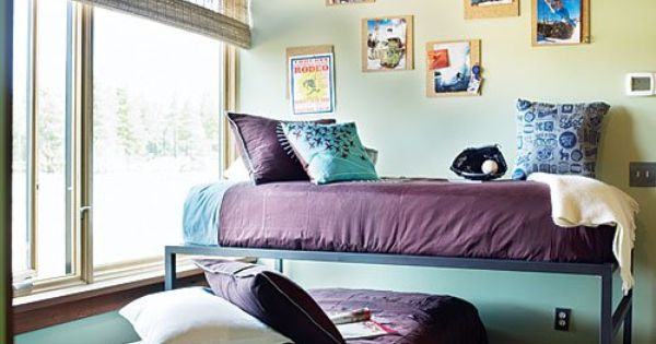 photo by thomas j story a bunk bed alternative trundle beds work well for older kids and help. Black Bedroom Furniture Sets. Home Design Ideas