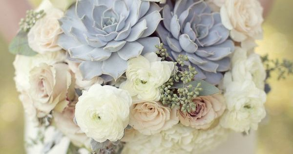 Muted colors, bridal bouquets | Muted Colors - Exquisite Wedding Bouquet |