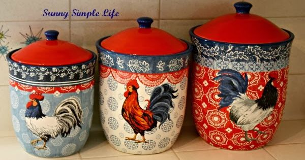 Chickens In Kitchen Decor Decoupage By Others