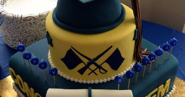Graduation Cake 18th Birthday For A Color Guard Member