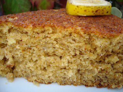 Bolo De Banana Com Farinha De Rosca Bread Crumb Banana Cake