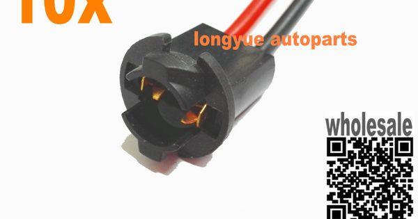 longyue T10 168 194 2825 W5W Wire Wiring Harness Sockets