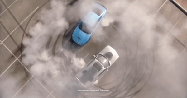 Dodge Brothers Doing Donuts Featuring The Dodge Challenger And