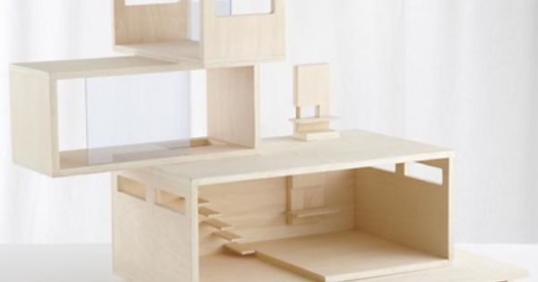 Kids Dollhouse: Modern Dollhouse in Imaginary Play | The Land of Nod