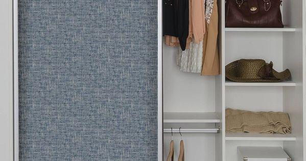 Brewster Poplin Texture Peel Stick Wallpaper Navy Peel And Stick Wallpaper Wardrobe Doors Interior Design Pictures