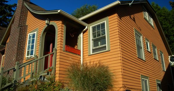 Southwest Blue And Orange Houses Exterior Exterior House Paint Color Ideas Exterior House