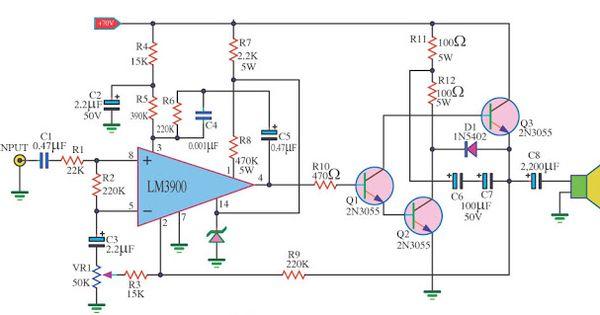 Electroschematicscomspark Transmitter Circuit