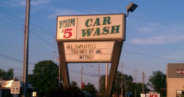 Pin By Pacific West Signs On Funny Signs Employee Training Car Wash Funny Pictures