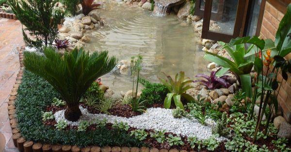 Piedras jardines rusticos dise o de jardines pinterest - Disenos de jardines rusticos ...