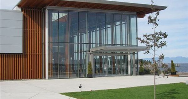 4 Sided Toggle Glazed Exterior Thermal Glass Curtain Wall System