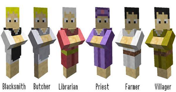 Minecraft Villager Head Costume minecraft villagers | ...