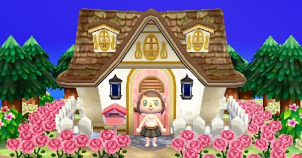 Another Cute House Cute House Animal Crossing 3ds Animal