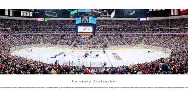 Colorado Avalanche Panorama Pepsi Center Pictures Nhl