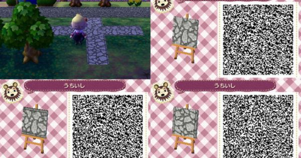 Animal Crossing New Leaf Qr Codes Stone Paths Stone Path Set From