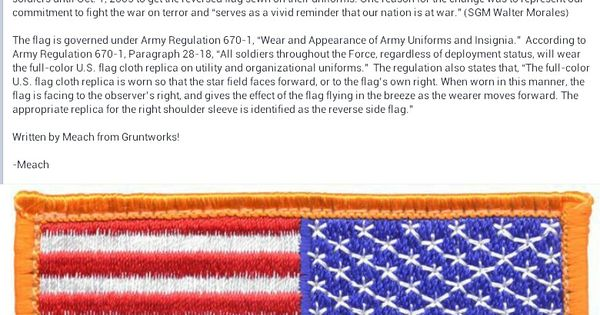 reverse flag meaning