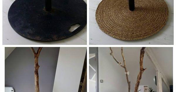 fabriquer un lampadaire en bois flott pour le salon lampadaire en bois lampadaires et les salon. Black Bedroom Furniture Sets. Home Design Ideas