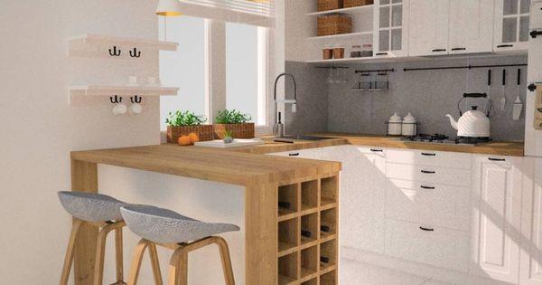 인테리어 디자인 아이디어, 내부 개조 & 리모델링 사진  부엌 ...