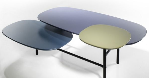 Table basse 3 plateaux coffee table by guillaume - Table basse tati ...