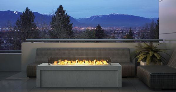Outdoor Gas Fireplace Plateau PTO 30 - Regency Fireplace Products | Outdoor  spaces | Pinterest | Fire pits, Fireplace kits and Gas fireplaces - Outdoor Gas Fireplace Plateau PTO 30 - Regency Fireplace Products