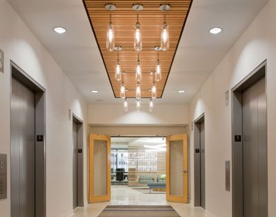 Using Changes In Flooring And Ceiling To Guide Movement