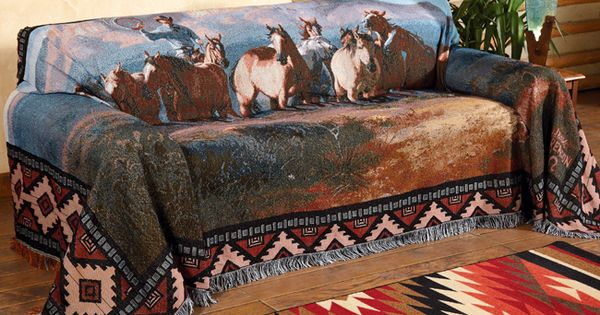 Thirteen Kinds Of Trouble Sofa Cover Southwestern