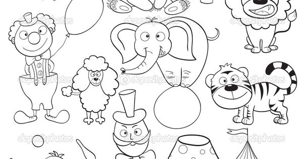 circus train coloring pages | circus animals coloring sheet - Google Search | circus ...