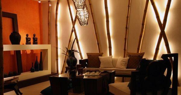 Bamboo Decor Salon Asiatique Decoration De Maison Asiatique Decoration Bambou