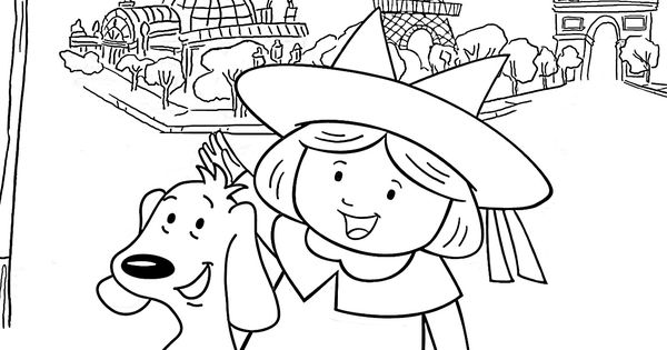 for Madeline coloring pages printable