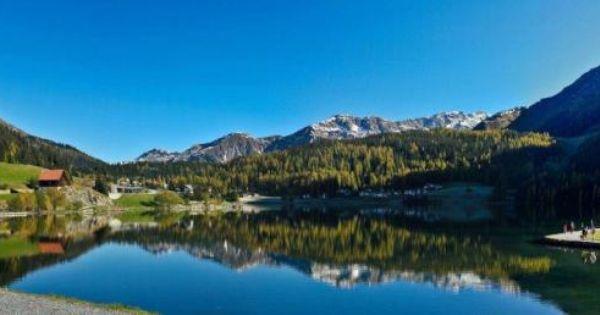 Davos Lake, Switzerland
