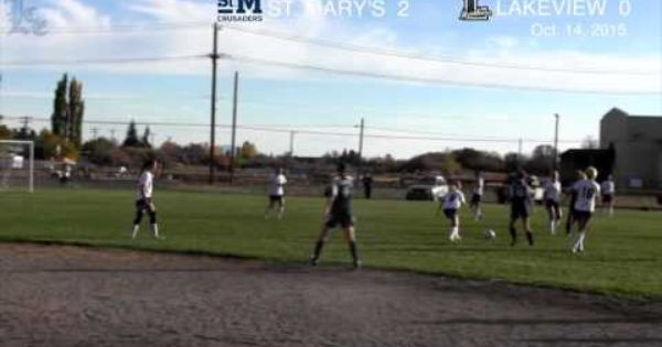 Lhs Girls Soccer Highlights St Mary S At Lakeview 10 14 2015 Soccer Highlights Girls Soccer Lake View