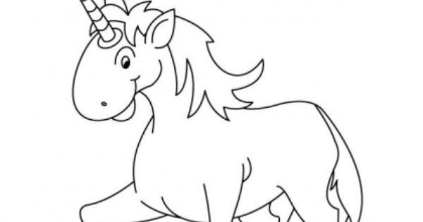 U For Unicorn Coloring Page With Handwriting Practice