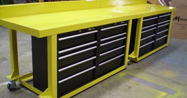 Work Bench Table Tool Box Custom Built Heavy Duty Work Bench Workbench Metal Work Bench