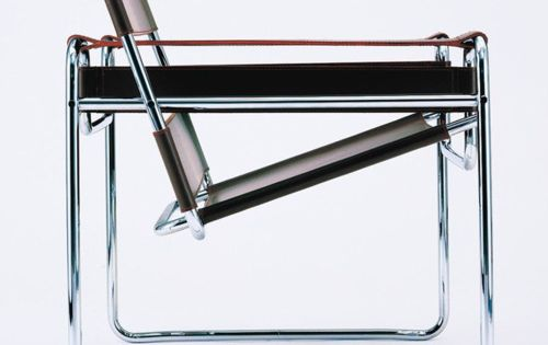 Wassily chair by Marcel Breuer (1925-1926) bauhaus interior design